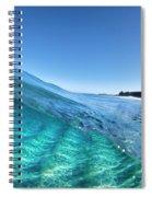 Chunk Of Blue. Spiral Notebook