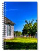 Church And Graveyard Spiral Notebook
