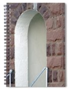 Church At Cuervo - New Mexico Spiral Notebook