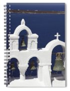 Church Bells And The Sea Spiral Notebook