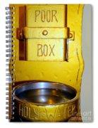 Church Blessings Spiral Notebook