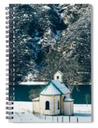 Church By The Achensee Spiral Notebook
