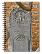 Church Cemetery Spiral Notebook