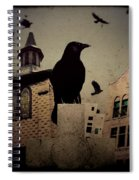 City Church Crows Spiral Notebook