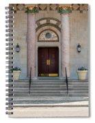 Church Doors Spiral Notebook