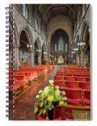 Church Flowers Spiral Notebook