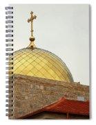 Church Golden Dome Spiral Notebook