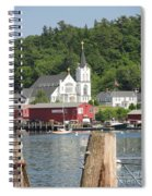 Church In Boothbay Spiral Notebook