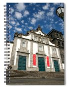 Church In Ribeira Grande Spiral Notebook