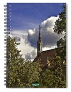 Church In Santa Fe Spiral Notebook