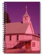 Church In Spirit Lake Idaho  Spiral Notebook