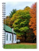 Church In The Wildwood Spiral Notebook