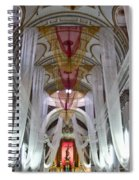 Church Interior 1 Guatemala  Spiral Notebook