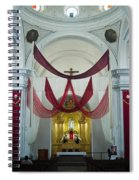Church Interior 2 Guatemala  Spiral Notebook