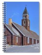 church of Ilulissat - Greenland Spiral Notebook