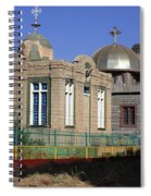 Church Of Our Lady Mary Of Zion Spiral Notebook