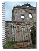 Church Of Santo Domingo 4 Spiral Notebook