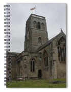 Church Of St. Mary's - Wedmore Spiral Notebook