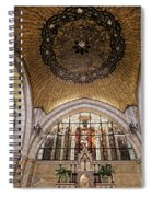 Church Of The Flagellation Spiral Notebook