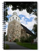 Church Of The Holy Cross At Rauma Spiral Notebook