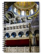Church Of The Holy Sepulchre Interior Spiral Notebook
