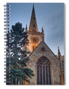 Church Of The Holy Trinity Stratford Upon Avon 4 Spiral Notebook