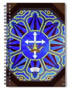 Church Of The Mediator Window Spiral Notebook