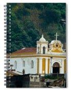 Church Of The Transfiguration Quetzaltenango Guatemala Spiral Notebook