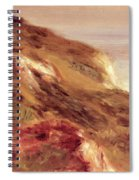 Church On A Clifftop Spiral Notebook