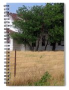 Church On The Grasslands  Spiral Notebook