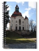 Church On The Hill Spiral Notebook