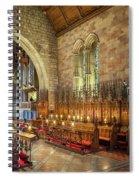Church Organist Spiral Notebook