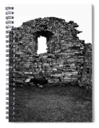 Church Ruins Hvalsey Spiral Notebook