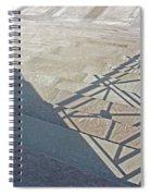 Church Shadow Steps Spiral Notebook