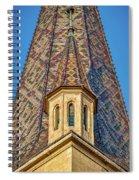 Church Spire Details - Romania Spiral Notebook
