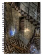 Church Stairs Above Spiral Notebook
