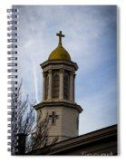 Church Steeple Nashville Spiral Notebook
