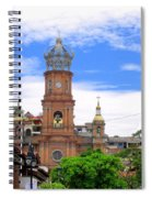 Church Steeples In Puerto Vallarta Spiral Notebook