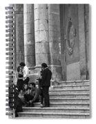 Church Step Lovers Spiral Notebook