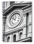 Church Time - St Louis Cathedral - New Orleans Spiral Notebook