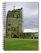 Church Tower - Remains Of St Helens Church Spiral Notebook