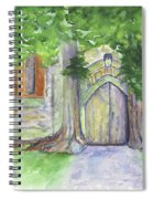 Church Trees Spiral Notebook