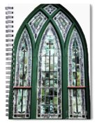 Church Window Spiral Notebook