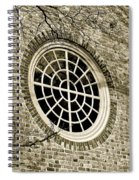 Church Window And Shadows 2 Spiral Notebook