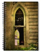 Church Window Church Bell Spiral Notebook