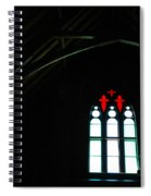 Church Windows Spiral Notebook