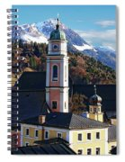 Churches In Berchtesgaden Spiral Notebook