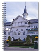 Churchill Downs Paddock Area Behind The Twin Spires Spiral Notebook