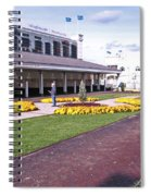 Churchill Downs Paddock Area Spiral Notebook