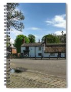 Churchtown Village After The Rain Spiral Notebook